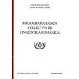 Bibliografía básica y selectiva de lingüística románica - Imagen 1