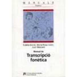 Manual de transcripció fonètica. - Imagen 1