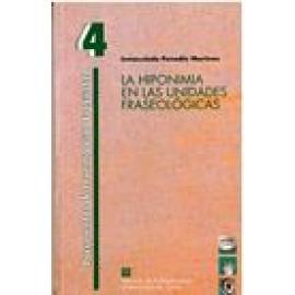 La hiponimia en las unidades fraseológicas. - Imagen 1