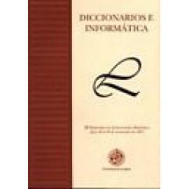 Diccionarios e informática. III seminario de lexicografía hispánica. - Imagen 1