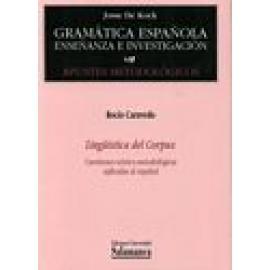Lingüística del Corpus. Cuestiones teórico-metodológicas aplicadas al español. - Imagen 1