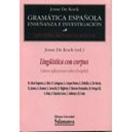 Lingüística con corpus. Catorce aplicaciones sobre el español. - Imagen 1