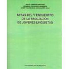 Actas del V encuentro de la asociación de jóvenes lingüistas - Imagen 1