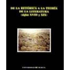 De la retórica a la teoría de la literatura (siglos XVIII y XIX). - Imagen 1