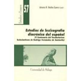 Estudio de lexicografía diacrónica del español. (V Centenario del [Vocabularium Ecclesiasticum] de Rodrigo Fernández de Santaell
