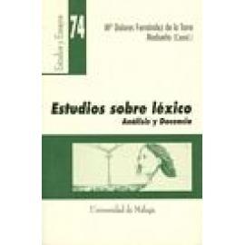 Estudios sobre léxico. Análisis y docencia. - Imagen 1