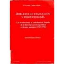 Dobletes de traducción y traductología - Imagen 1