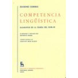 Competencia lingüística. Elementos de la teoría de hablar - Imagen 1