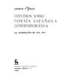 Estudios sobre poesía española contemporánea. La generación de 1924-1925. 2ª ed. ampliada - Imagen 1