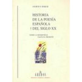 Historia de la poesía española del siglo XX - Imagen 1