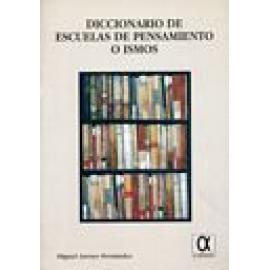 Diccionario de escuelas de pensamiento o ismos - Imagen 1