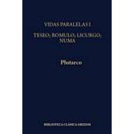 Vidas paralelas I: Teseo-Rómulo, Licurgo-Numa - Imagen 1