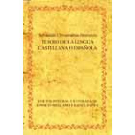 Tesoro de la lengua castellana o española. Libro + DVD. Reedición