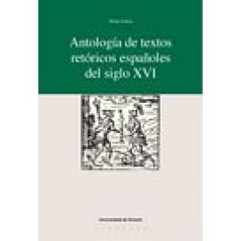 Antología de textos retóricos españoles del siglo XVI - Imagen 1