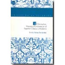 El diminutivo. Historia y funciones en el español clásico y moderno - Imagen 1