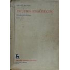 Estudios lingüísticos. Temas españoles - Imagen 1
