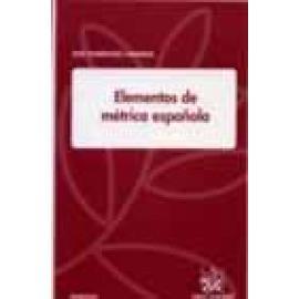 Elementos de métrica española - Imagen 1