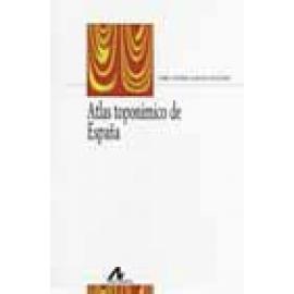 Atlas toponímico de España - Imagen 1