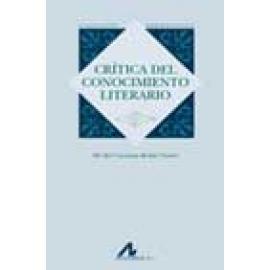 Crítica del conocimiento literario - Imagen 1