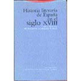 Historia literaria de España en el siglo XVIII - Imagen 1