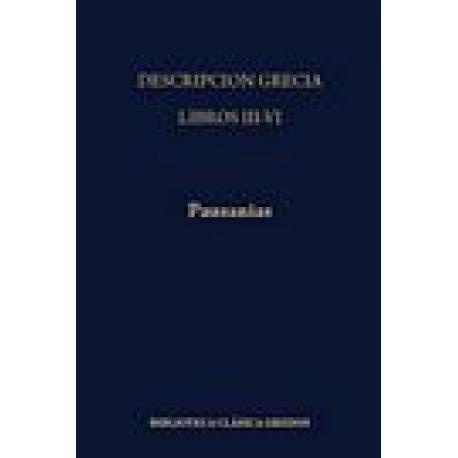 Descripción de Grecia. Libros III-VI