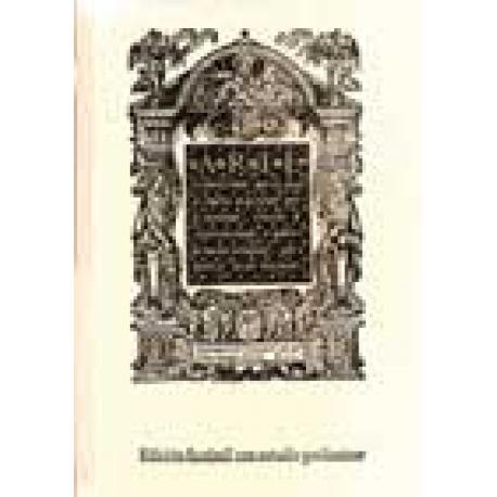 Arte sutilísima, por la cual se enseña a escribir perfectamente (1550). Edición facsímil con estudio preliminar