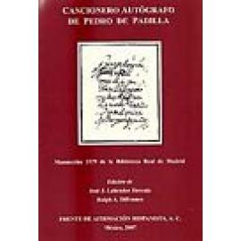 Cancionero autógrafo de Pedro Padilla. Manuscrito 1579 de la Biblioteca Real de Madrid - Imagen 1