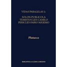 Vidas paralelas II: Solón-Publícola, Temístocles-Camilo, Pericles-Fabio Máximo - Imagen 1