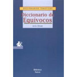Diccionario de equívocos. Definiciones, expresiones, frases y locuciones - Imagen 1