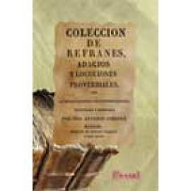Coleccion de refranes, adagios y locuciones proverbiales - Imagen 1