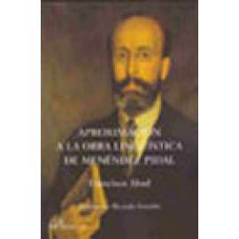 Aproximación a la Obra Lingüística de Menéndez Pidal - Imagen 1