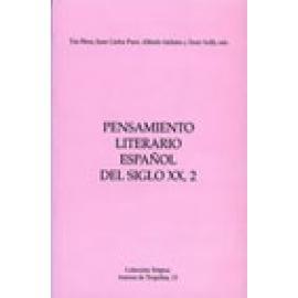Pensamiento literario español del siglo XX, 2 - Imagen 1