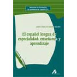 El español lengua de especialidad: enseñanza y aprendizaje - Imagen 1