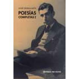 Poesías Completas I - Imagen 1