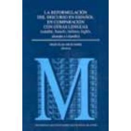 La reformulación del discurso en español en comparación con otras lenguas. - Imagen 1