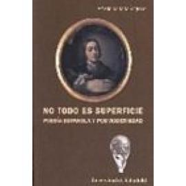 No todo es superficie. Poesía española y posmodernidad - Imagen 1