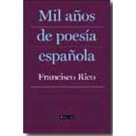 Mil años de poesía española - Imagen 1