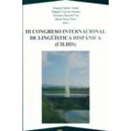 III Congreso internacional de lingüística hispánica (CILHIS) - Imagen 1