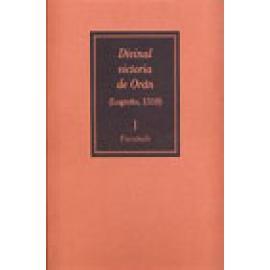 Divinal victoria de Orán (Logroño,1510)(2 vols.). Facsímil. Estudio - Imagen 1