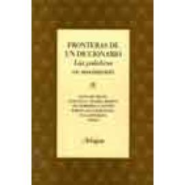 Fronteras de un diccionario. Las palabras en movimiento - Imagen 1