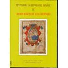 Textos para la historia del español. Vol III. Archivo municipal de Alcalá de Henares - Imagen 1