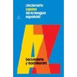 Diccionario Espasa de la lengua española de Secundaria y Bachillerato - Imagen 1