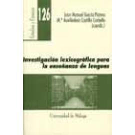 Investigación lexicográfica para la enseñanza de lenguas - Imagen 1