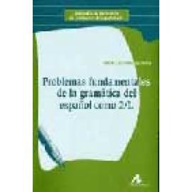 Problemas fundamentales de la gramática del Español como 2/L - Imagen 1