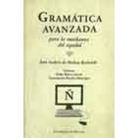 Gramática avanzada para la enseñanza del español