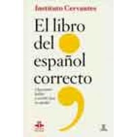 Libro del español correcto. Claves para hablar y escribir bien en español. - Imagen 1