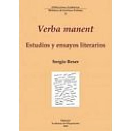 Verba manent. Estudios y ensayos literarios
