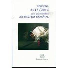 Agenda 2013/2014 con efemérides del teatro español. - Imagen 1