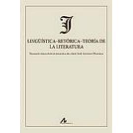 Lingüística.Retórica.Teoría de la literatura - Imagen 1