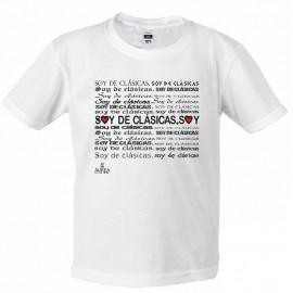"Camiseta ""Soy de Clásicas"""